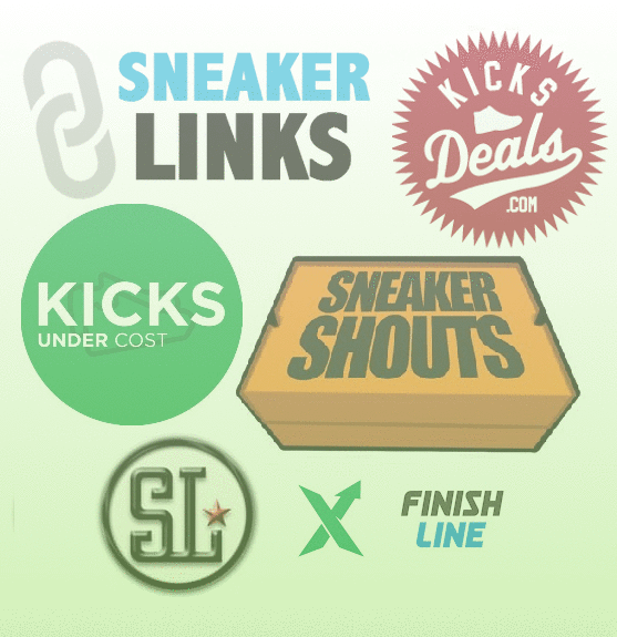 sneaker sites icons